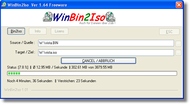 WinBin2Iso screenshot
